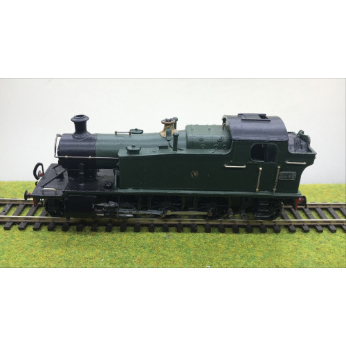 Kit-Built Class 4575 2-6-2T Steam Locomotive No.5542 in GWR Green with Shirtbutton
