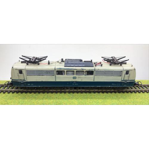 Roco DB 151 096-5 Electric Locomotive in Cream/Blue Livery