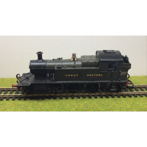 Kit Built GWR 2-6-2T Steam Locomotive No.4547 in GWR Green LIvery