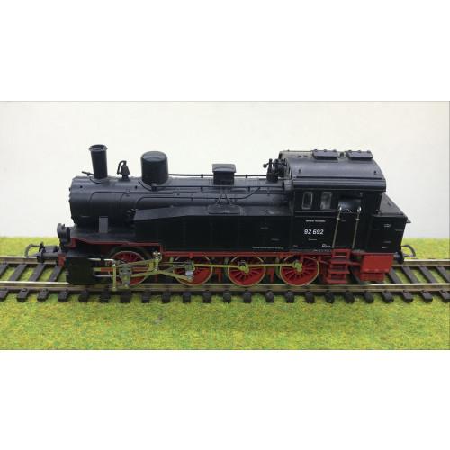 Trix 52-2412 HO Scale BR92 0-8-0T Deutsche Reichsbahn Steam Locomotive No.92 692 in Black