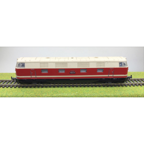 Gutzold HO Scale EM20 DR DRG Class BR118 Diesel Locomotive No.118 142-9 in Red/Cream Livery