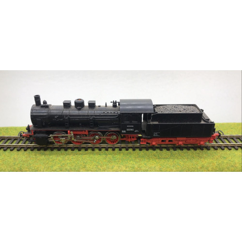 Piko HO Scale BR55 0-8-0 Steam Locomotive No.553784 in DB Black
