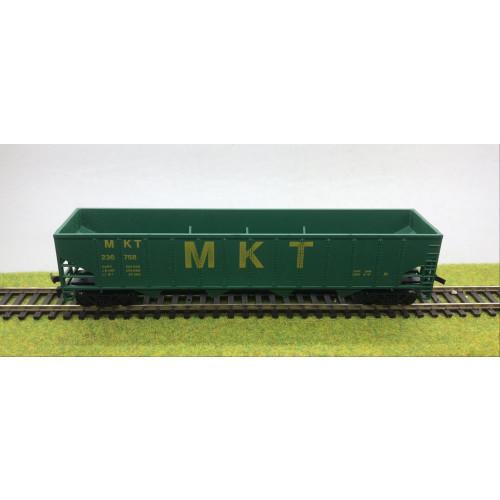 AHM HO Scale 5435-07 M.K.T. Wagon - Green