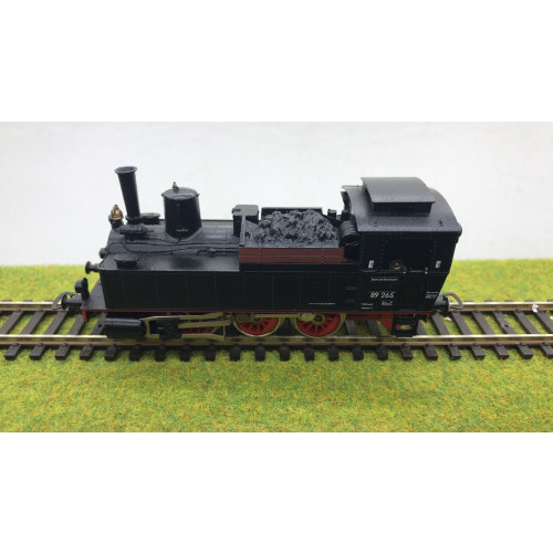 Piko HO Scale BR89 HO Scale 0-6-0 Steam Locomotive No.89 265 in DB Black