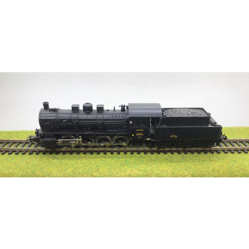 Piko HO Scale BR55 HO Scale 0-8-0 Steam Locomotive No.040090 in SNCF Black