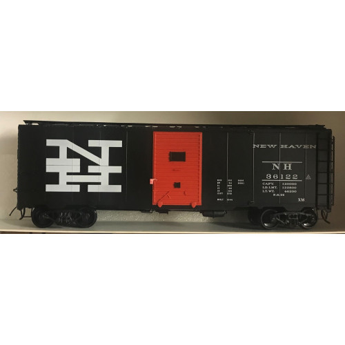 Atlas O Gauge 2-Rail New Haven Black Box Car (Wrong Box)