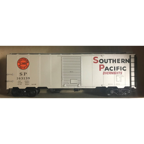 Atlas O Gauge 2-Rail Southern Pacific Overnights Silver Box Car
