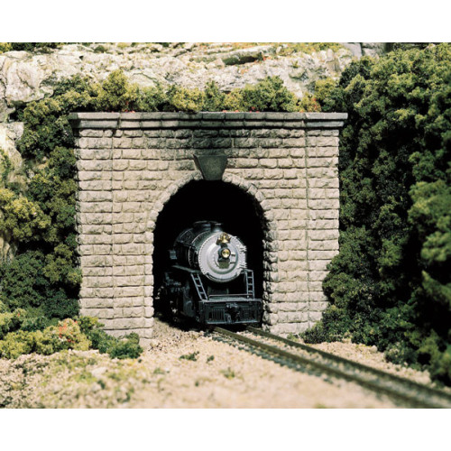 WC1153 N Cut Stone Single Tunnel Portal (x2)