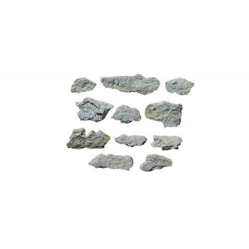 "WC1231 Surface Rocks Rock Mould (5""x7"")"