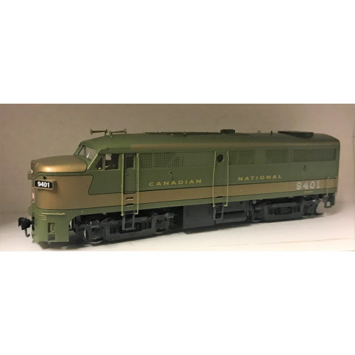 HO Scale Canadian National FA1 Diesel Locomotive No.9401 in Green / Gold