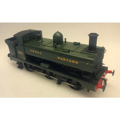 GWR 2021 Class 0-6-0 Pannier Tank Locomotive No.2100 - Scratch Built