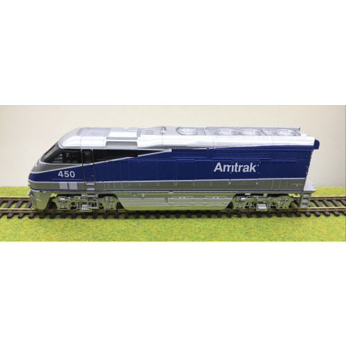 Athearn 2602 F59PHI Powered Amtrak West #450 in Blue/Silver Livery