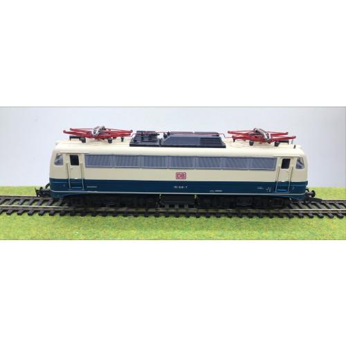 Roco 43389 HO Scale DB Electric Locomotive No.110 340-7 in Blue/Cream Livery