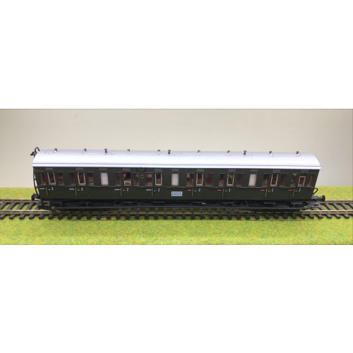 Piko HO Scale Second Class Compartment Coach for Nach Berlin Ahb