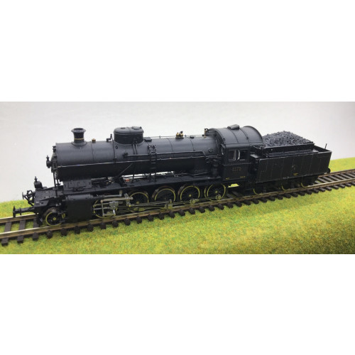 Roco HO Scale C5/6 German 2-10-0 Steam Locomotive in Black