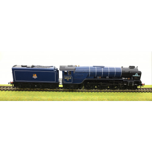 Bachmann 32-550C Class A1 Steam Locomotive No.60163 Tornado in BR Blue with Early Emblem