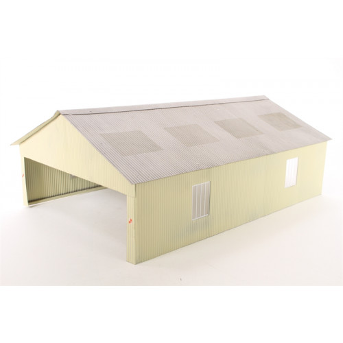 Bachmann 44-083 Scenecraft 00 Gauge Carriage Shed