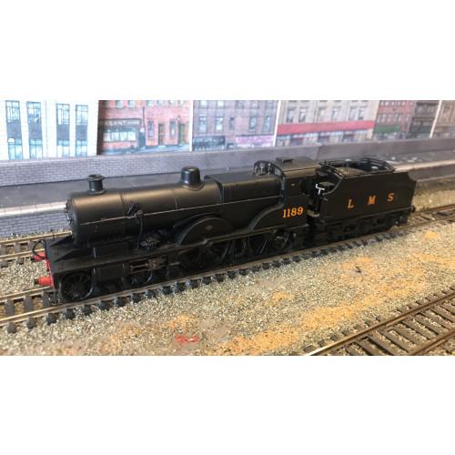 Bachmann 31-931 Midland Compound 4-4-0 Steam Locomotive No.1189 in LMS Black