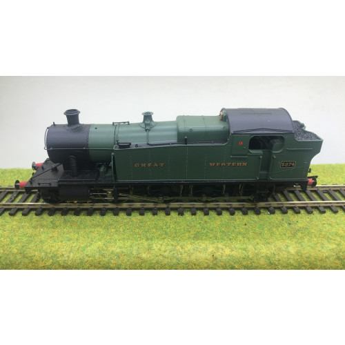 Hornby R3125 GWR Class 52xx 2-8-0T Tank Locomotive No.5274 in Great Western Green - DCC Fitted