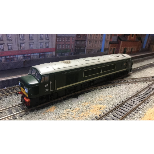 Bachmann 32-679DS Class 45 Peak Co-Co Diesel Locomotive No.D27 in BR Green with SYP - Sound Fitted