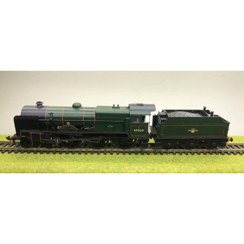 Bachmann 31-213DS LME Patriot Class 4-6-0 Steam Locomotive No.45504 Royal Signals in BR Green with Late Crest - Sound Fitted