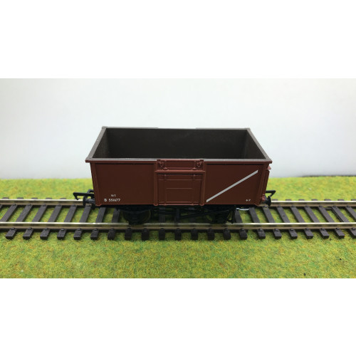 Bachmann 37-226F 16 Ton Steel Mineral Wagon No.B551677 in Early BR Bauxite