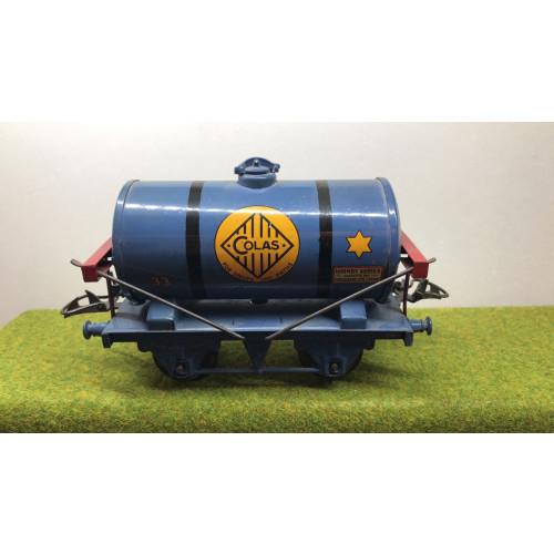 Hornby Colas Bitumen Tanker Wagon - Blue - No Box