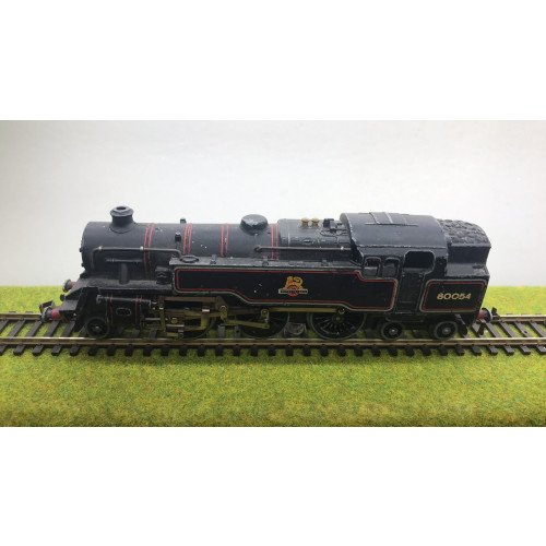 Hornby Dublo 3-Rail 2-6-4 BR Standard 4MT Steam Locomotive No.80054 in BR Black with Early Emblem