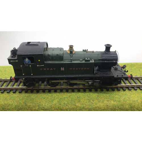 Kit Built Class 45xx 2-6-2 Small Prairie Steam Locomotive No.4555 in Great Western Green