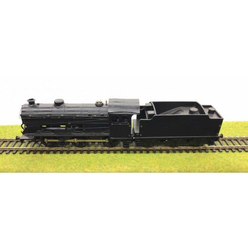 Kit Built LNER J38 0-6-0 Tender Steam Locomotive in Plain Black