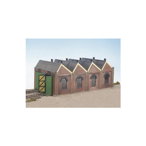 CK12 Two Road Engine Shed