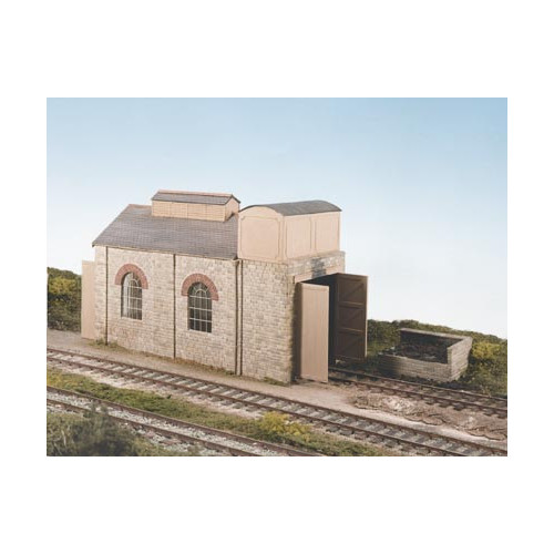 CK14 Single Road Engine Shed