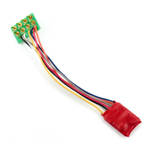 DCC92 Ruby Series 2 Function Small DCC Decoder 8-Pin