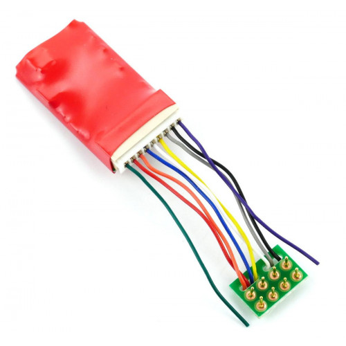 DCC94 Ruby Series 6 Function Pro DCC Decoder 8-Pin