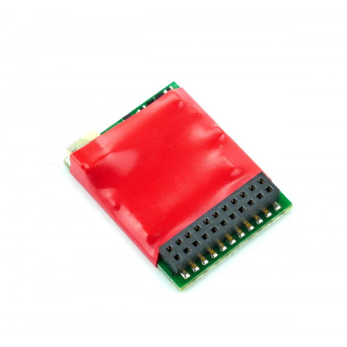 DCC95 Ruby Series 6 Function Pro DCC Decoder 21-Pin