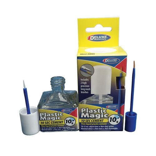 DLAD-83 Deluxe Materials Plastic Magic 10 Second Cement (40ml)