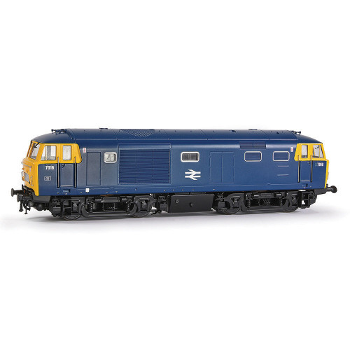 E84003 Class 35 Hymek Diesel Locomotive No.7016 in BR Blue with Full Yellow End  Data Panel