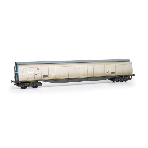 E87009 Cargowaggon No.279-7-604-6 in Silver & Blue Unbranded Livery - Weathered