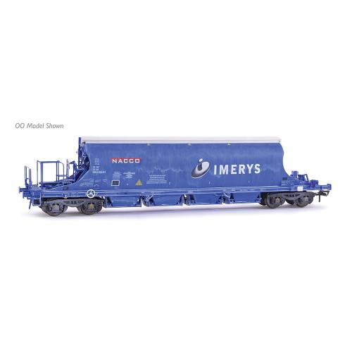 E87504 JIA Nacco Wagon No.33-70-0894-001-3 in Imerys Blue Livery - Weathered