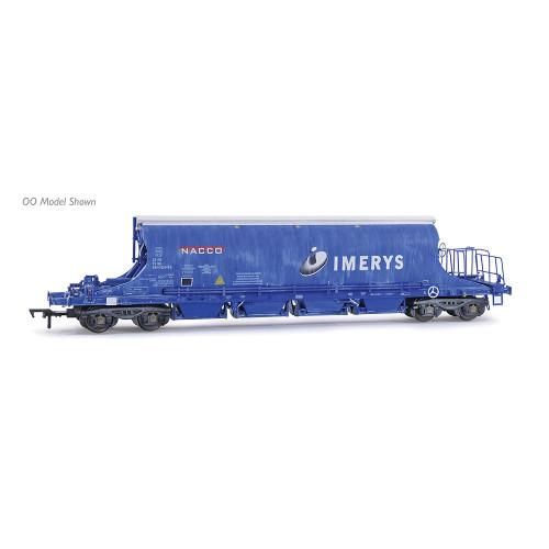 E87507 JIA Nacco Wagon No.33-70-0894-010-4 in Imerys Blue Livery - Weathered