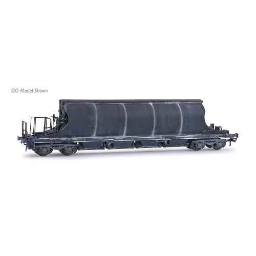 E87508 JIA Nacco Wagon No.33-70-0894-011-2 in Imerys Blue Livery - Heavily Weathered