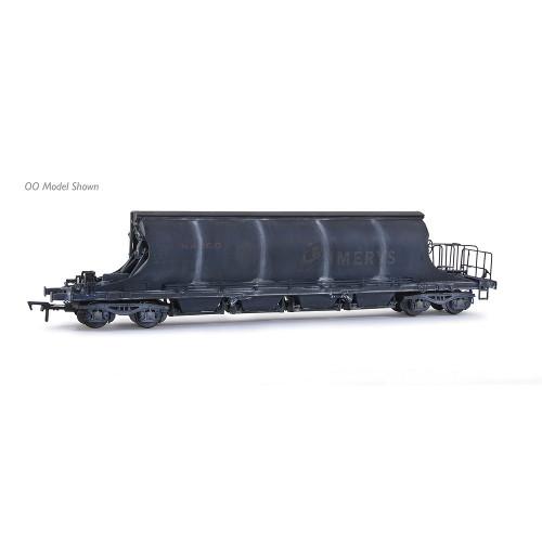E87509 JIA Nacco Wagon No.33-70-0894-012-0 in Imerys Blue Livery - Heavily Weathered