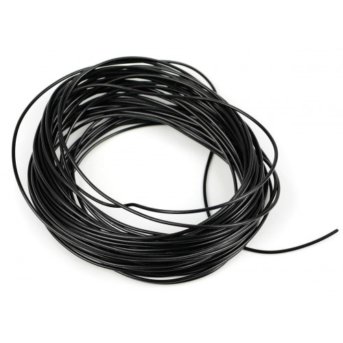 GM11BK 2amp 7 Strand Black Electrical Wire x 10m