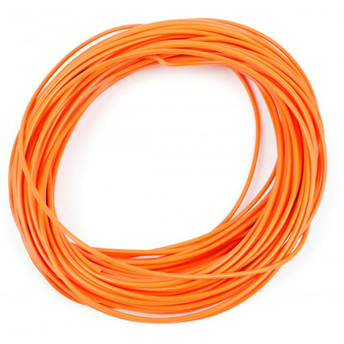GM11O 2amp 7 Strand Orange Electrical Wire x 10m