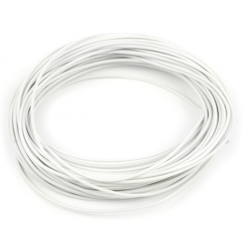 GM11W 2amp 7 Strand White Electrical Wire x 10m
