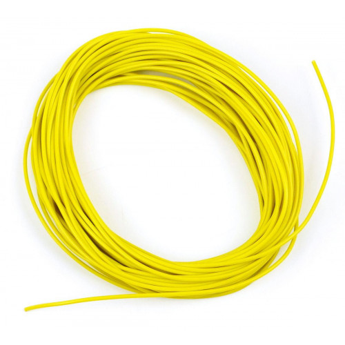 GM11Y 2amp 7 Strand Yellow Electrical Wire x 10m