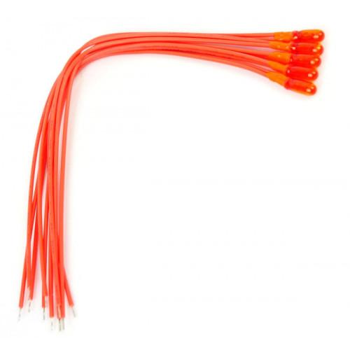 GM73 Orange 12v Grain of Wheat Bulbs (5)