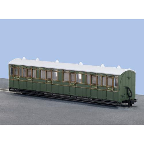 GR-401A 009 First / Third Class Composite Coach in SR Livery