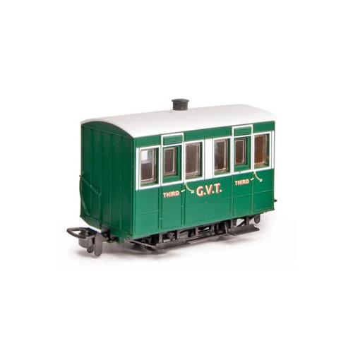 GR-500 Glyn Valley Tramway 4 Wheel Enclosed Side Coach