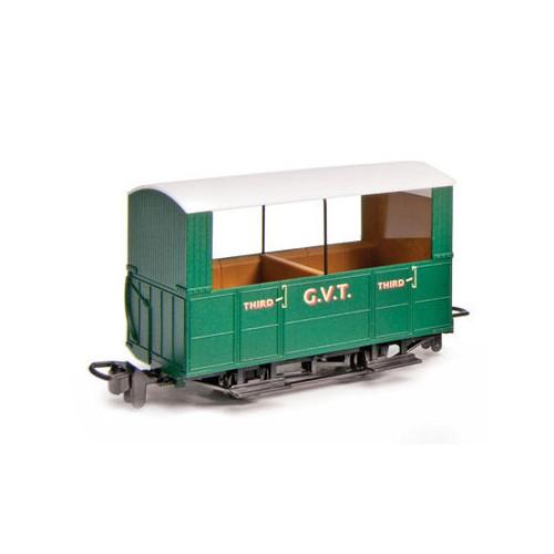 GR-520 Glyn Valley Tramway 4 Wheel Open Side Coach